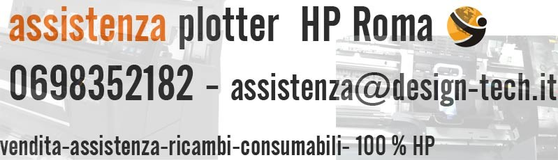 assistenza plotter hp roma