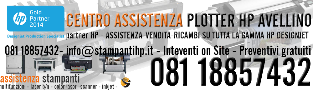 assistenza plotter hp avellino