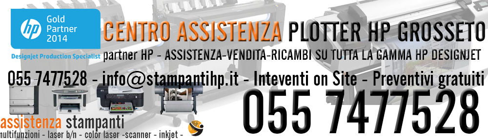 assistenza plotter hp grosseto