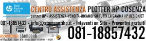 assistenza plotter hp cosenza